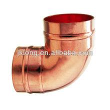 J9104 Anel de solda 90 Deg Elbow, Conexão de cobre