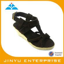 2014 chaussures à ressort à la mode sandales