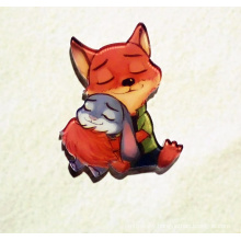 Lovely Red Fox Brooch Fashion Jewellery