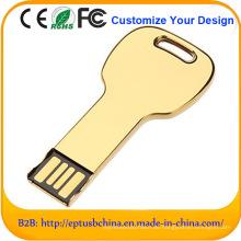 Heißer Verkaufs-goldener Farben-Minitisch-USB-Blitz-Antrieb (ED094)