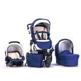 Luxury 3 in 1 High Sight Aluminum Baby Stroller