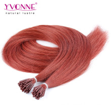Color #35 I Tip Human Hair Extensions