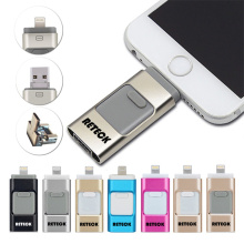 Bottom price for Factory of Otg Usb Flash Drive, 8Gb Otg Usb Flash Drive, Otg Usb Flash Drive For Iphone  from China 3 in 1 Usb Flash Drive Otg Flashdrive supply to Norfolk Island Factories