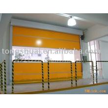 Porte de PVC haute vitesse