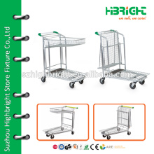 high quality warehouse cargo trolley