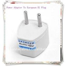 AC POWE PLUG Adaptador de corriente de corriente universal de viaje al enchufe europeo que sea posible para el convertidor de enchufe de pared en Europa