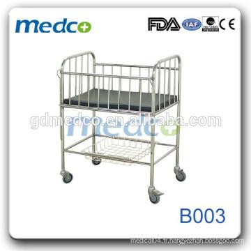 Medco B003 Lit bébé bon marché Hôpital New Born Baby Bed