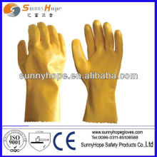 nitrile coated glove with long sleeves