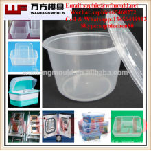 container moulding mould made in China/OEM Custom plastic injection container molding mold