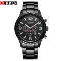 Business Steel Full Sport Waterproof Quartz Watch