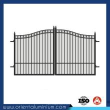 Conception de porte tubulaire en aluminium