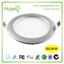 Высокая яркость dimmable ультра тонкий 18w круглый светодиодный свет панели