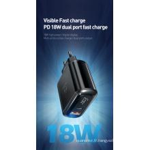 Vente chaude MC-8770 Chargeur mural USB