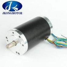 Jk80bls02 220W 48V 3000rpm 80mm Round Brushless DC Motor