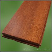 Planchers de bois franc de qualité Merbau