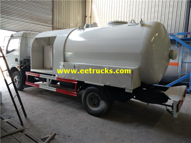 Dongfeng Propane Gas Filling Trucks