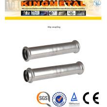 Acoplamento de deslizamento dos encaixes da imprensa do aço inoxidável F304 / 316L