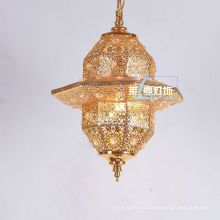 Lanterna de pingente de lustre de cristal marroquino Zhongshan LT028