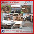 Ligne de production de panneaux de portes WPC