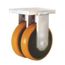 Фиксированные двухколесные ролики с рулевым колесом
