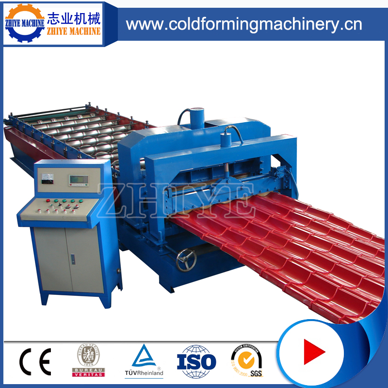 Υψηλής απόδοσης GI ZhiYi Glazed Tile Making Machine