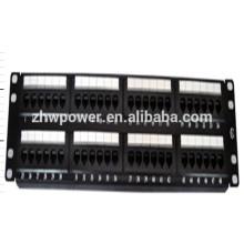 UTP cat5e 48 порт патч-панель с гнездом для Keystone с PC-материалом ABS