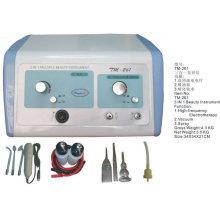 Machine à cavitation par pulvérisation pour soins de la peau à l'électrothérapie