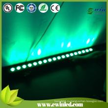 Беспроводной зеленый светодиодный шайбы стены для этапа