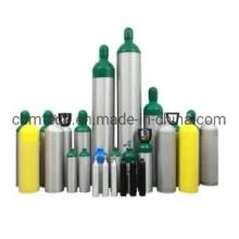 Tped/DOT/GB Standard Aluminum Gas Cylinders Scuba Diving Tanks