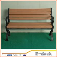 Anti que molda a superfície de lixamento ecológica madeira de madeira composta WPC cadeira