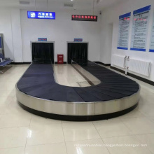 Airport arrival area baggage handling system