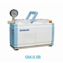 Вакуумный насос с автоматической системой охлаждения выхлопных газов