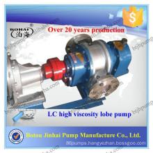 LC series high viscosity lobe pump for molasses