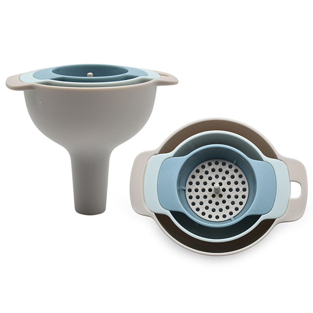 nested Plastic Funnel set