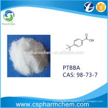 PTBBA, acide 4-tert-butylbenzoïque, CAS 98-73-7