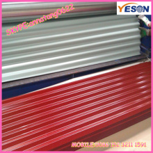 Australia standard 850mm double painted galvalume corrugated steel sheets building material