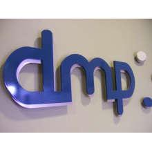 Logotipo de acrílico 3D superpuesto (ID-29)
