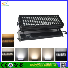 DMX 108x3W RGB led indoor wall washer light for building lighting