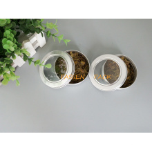 100g Aluminium Teekanne mit Haustier Fenster Schraubdeckel (PPC-ATC-100)