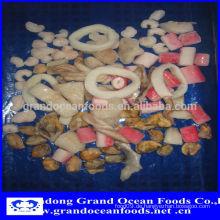 Gefrorene Meeresfrüchte-Mix