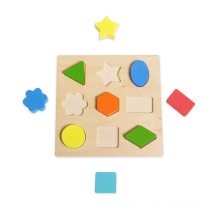 Wooden Shape Block Puzzle for Kids and Children