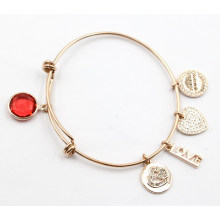Fábrica atacado moda pulseira com encantos
