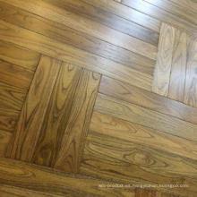 Suelo de madera suave de alta calidad del parquet de Robinia
