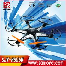 La mejor compra para el helicóptero del abejón del rc de la Navidad con la función fpv de la cámara en vivo rc drone fpv quadcopter