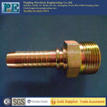 China high precision custom cnc and milling hose coupling