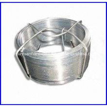 Galvanizado / PVC Coated pequeno fio de bobina / Garden Wire
