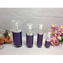 15ml 30ml 60ml 120ml Oval PMMA botella para la loción