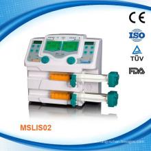 MSLIS02W Hochatmosphärischer Druck Medizinische Infusion Spritze Pumpe mit Doppelkanal Infusion