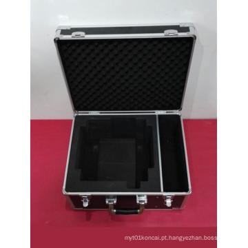 Particularmente forte de alumínio ABS à prova de fogo Board Shockproof Tool Box