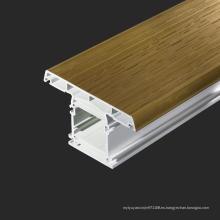 Perfil de ventana de PVC de resistencia UV
